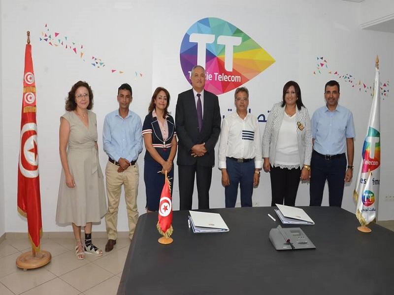 Partenariat Entre Le Groupe Hermess Et Tunisie Telecom